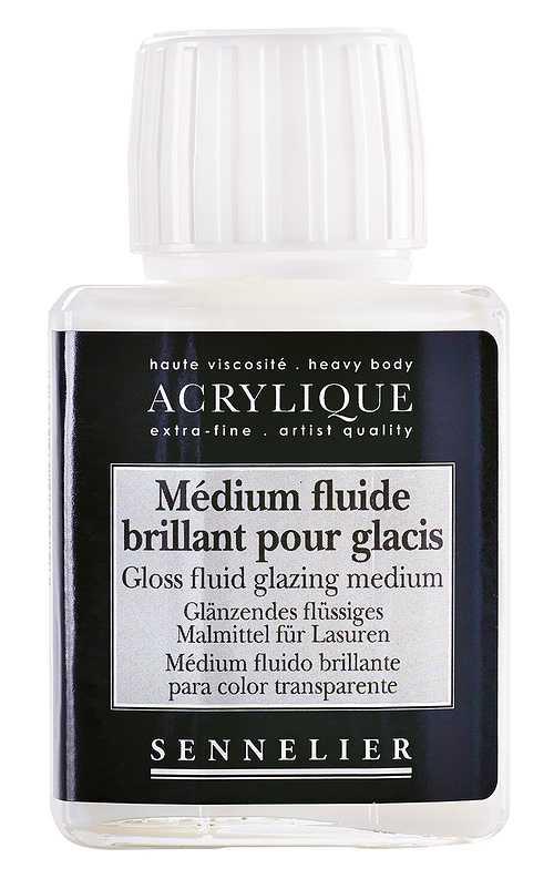 Gloss fluid glazing medium 0