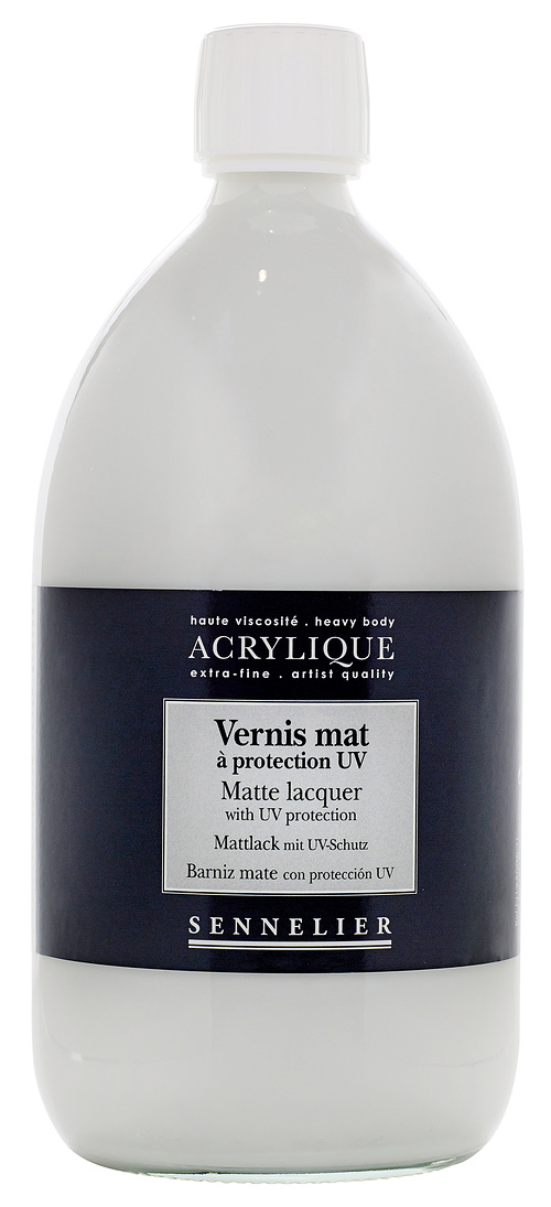 Matte lacquer with UV protection n125006-1l-vernismat