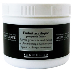 acrylic primer for pastels (white)