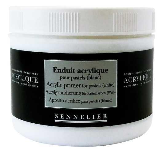 Acrylic primer for pastels (white) 0