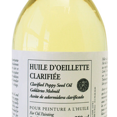 clarified poppy seed oil