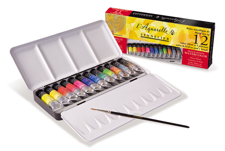 Classic watercolour boxes n131611-boit12tubesaquaetui1