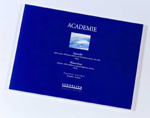 """""""Académie"""" watercolour block 0"""