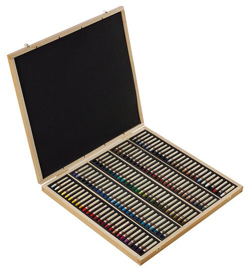 Oil pastels - Wooden Sets n132518-120pl