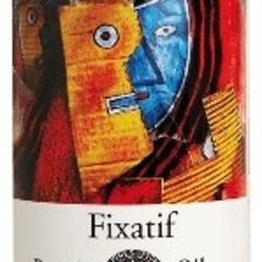 oil pastel fixative